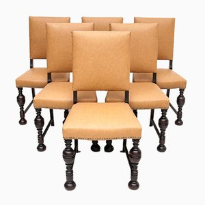 Eclectic Dining Chairs, 1920s, Set of 6
