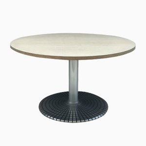 Vintage Round Dining Table from Zanotta, 1980s