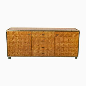 Vintage Faux Bamboo Chest of Drawers by Gabriella Crespi, 1970s