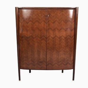 Italian Rosewood Bar Cabinet by Paolo Buffa, 1950s