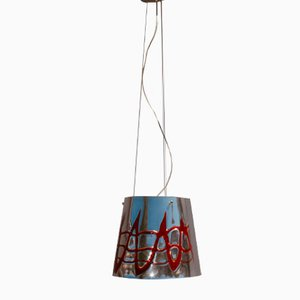 Murano Pendant Lamp in Mirrored Glass by Flaver, 1998
