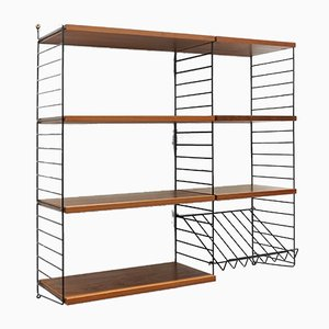 "Vintage Modular String Wall Unit by Strinning, Kajsa & Nils ""Nisse"" for String, 1960s"