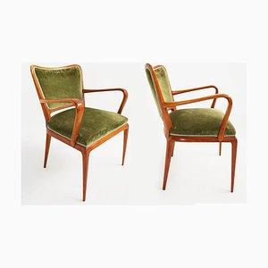 Dining Chairs by Osvaldo Borsani for Atelier Borsani Varedo, 1950s, Set of 2