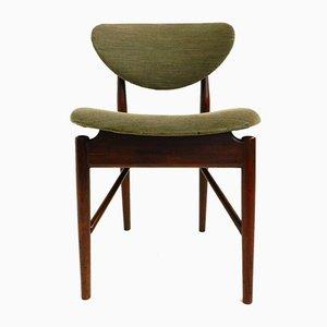 Dänische Modell 108 Esszimmerstühle von Finn Juhl, 1946, 4er Set