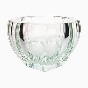 Purity Schale aus Klarglas von Moser Glassworks, 1930er
