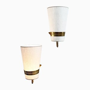 Brass Sconces from Stilnovo, 1965, Set of 2
