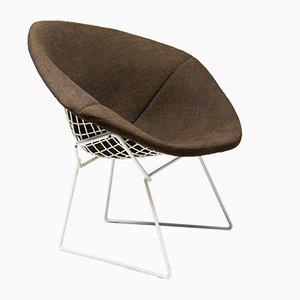 Weißer Diamond Stuhl von Harry Bertoia für Knoll, 1960er