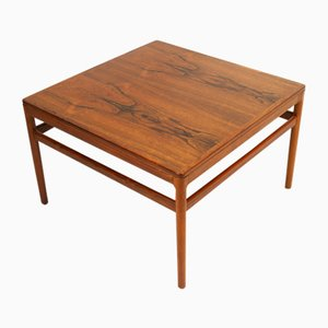 Mid-Century Danish Rosewood Coffee Table by Kurt Østervig for Centrum Møbler, 1960s