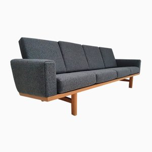 Oak and Wool Model GE 236 Sofa by Hans J. Wegner for Getama, 1970s