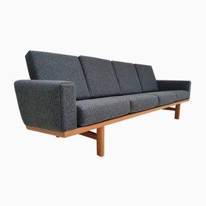 Oak and Wool Model GE 236 Sofa by Hans J. Wegner for Getama, 1970s