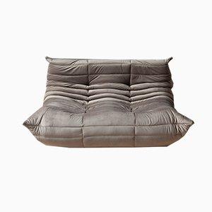 2-Sitzer & 3-Sitziges Sofa-Set aus Elefanten-Tsetbeiischem Elefanten Tissue von Michel Ducaroy für Ligne Roset, 1970er, 2er Set