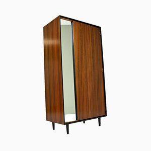 Vintage Walnut Wardrobe by John & Sylvia Reid for Stag, 1950s