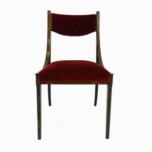 Italian Barbara Dining Chairs by Luigi Massoni for Mobilia, 1960s, Set of 3