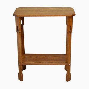 Antique Arts and Crafts Oak Side Table