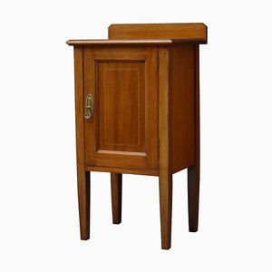 Antique Edwardian Mahogany Nightstand