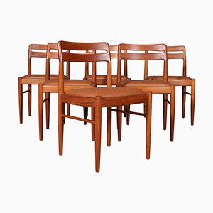 Dining Chairs by Henry Klein for Bramin, 1960s, Set of 6
