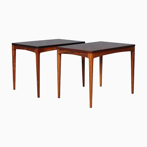 Rosewood Side Tables by Johannes Andersen, 1960s, Set of 2