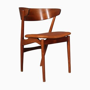 Teak and Beech Dining Chairs by Helge Sibast, 1960s, Set of 6