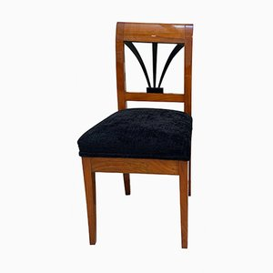 Biedermeier Side Chair in Cherry Wood and Shellac, South Germany, 1820s