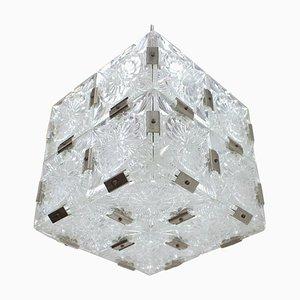 Mid-Century Pendant Lamp from Kamenický Šenov, 1960s