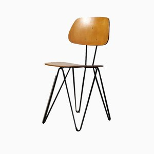 Plywood Chair by Cees Braakman for Pastoe, 1950s