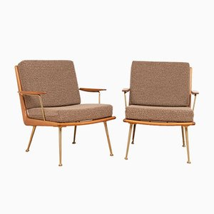 German Boomerang Armchairs by Hans Mitzlaff for Soloform, 1950s, Set of 2
