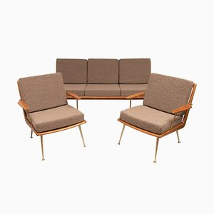 German Boomerang Sofa by Hans Mitzlaff for Soloform, 1950s