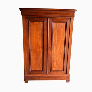 Antique Louis Philippe Mahogany Wardrobe