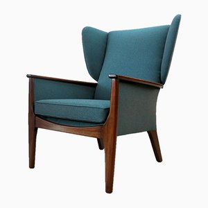 Teak Wingback Armchair from Parker Knoll, 1960s