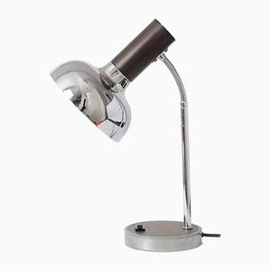 Chrome Plated Desk Lamp from Massive, 1970s
