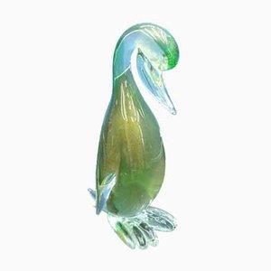 Ente aus Muranoglas von Barovier & Toso, 1960er