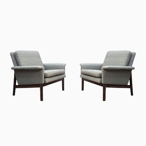Danish Rosewood Jupiter Armchairs by Finn Juhl for France & Søn / France & Daverkosen, 1960s, Set of 2