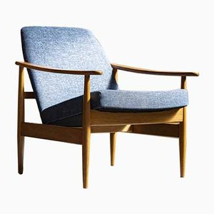 Czechoslovakian Lounge Chair from Drevotvar, 1960s