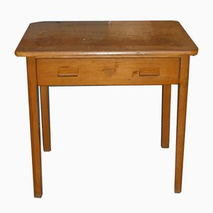 Mid-Century Wooden Childrens Craft Table from Herlag