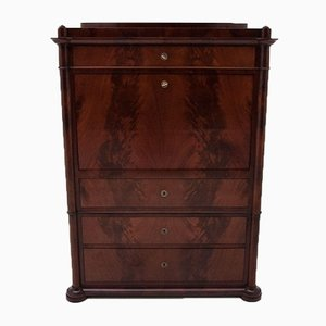 Antique Biedermeier Secretaire