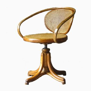 No. 1 Desk Chair by Michael Thonet for Gebrüder Thonet Vienna GmbH, 1880s