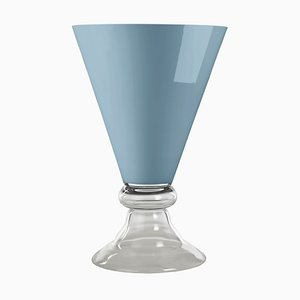 Glass Romantic Cup in Purist Blue from VGnewtrend