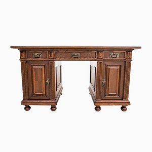 Antique Neo-Renaissance Desk, 1920s