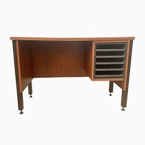 Vintage Teak Desk with Drawers
