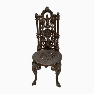 Victorian Cast Iron Garden Chairs, Set of 6