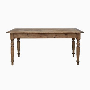 Vintage Walnut Farm Table
