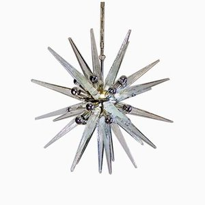 Murano Glass Sputnik Ceiling Lamp, 2000s
