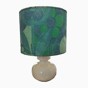 White Ceramic Table Lamp, 1970s