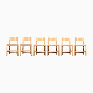 Vintage Shaker Dining Chairs by Atelier Van Lieshout for Moooi, 1990s, Set of 6
