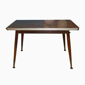 Mid-Century Extendable Formica Model Mufuti Dining Table, 1960s