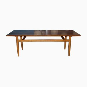 Mid-Century Wooden Coffee Table, 1960s
