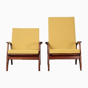 Easy Chairs from De Ster Gelderland, 1950s, Set of 2