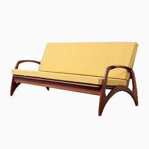 Teak Sofa from De Ster Gelderland, 1950s