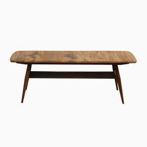 Mid-Century Coffee Table with Magazine Rack by Lucian Ercolani for Ercol, 1970s
