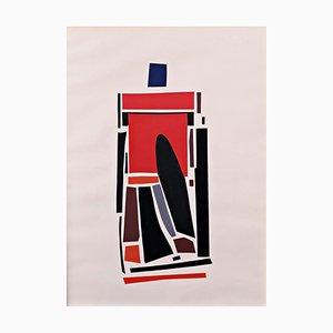 Hardedge Collage von Rolf Hans, 1994